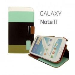 "Torbica ""Book"" za Samsung Galaxy Note 2, Barvna"