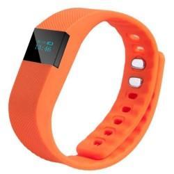 """Pametna zapestnica """"Fitness Tracker"""" v oranžni barvi"""