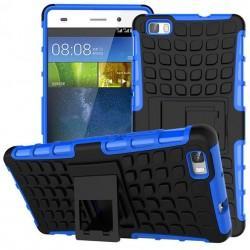 """Etui """"Dual Armor"""" za Huawei P8 Lite, modra barva"""