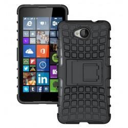 "Etui ""Dual Armor"" za Microsoft Lumia 650, črna barva"