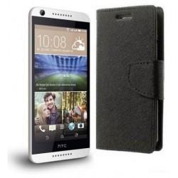 """Preklopna Torbica """"Fancy"""" za HTC Desire 626, Črna barva"""