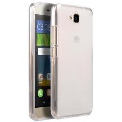 Silikonski etui za Huawei Y6 Pro, 0,3mm, prozorna