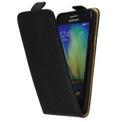"""Preklopna Torbica """"flexi"""" za Samsung Galaxy A3 (2016), Črna barva"""