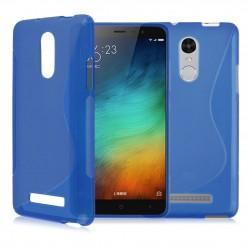 Silikon etui S za Xiaomi Redmi Note 3, Modra barva