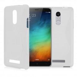 Silikon etui S za Xiaomi Redmi Note 3, Bela barva