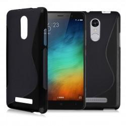 Silikon etui S za Xiaomi Redmi Note 3, Črna barva