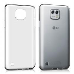 Silikonski etui za LG X Cam, 0,3mm, prozorna