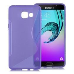Silikon etui S za Samsung Galaxy A3 2016, Vijolična barva