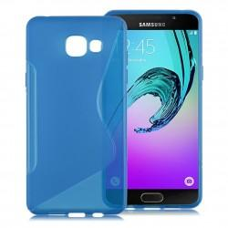 Silikon etui S za Samsung Galaxy A3 2016, Modra barva