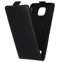 "Preklopna Torbica ""flexi"" za LG X Cam, Črna barva"