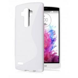 Silikonski etui S za LG G4, Bela barva