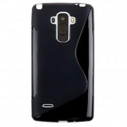 Silikonski etui S za LG G4 Stylus, Črna barva