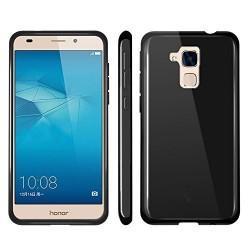 Silikon etui za Huawei Honor 7 Lite, 0,5mm, črna barva