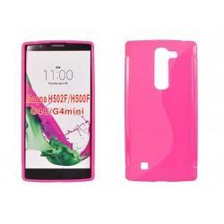 Silikon etui S za LG G4C, Pink barva