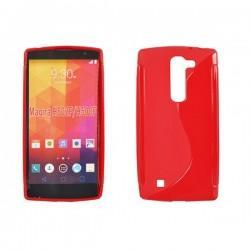 Silikon etui za LG Magna, Rdeča barva