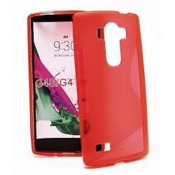 Silikon etui S za LG G4S, Rdeča barva
