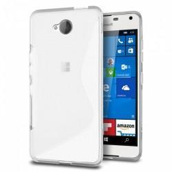 Silikon etui S za Microsoft Lumia 650, Transparent