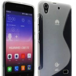 Silikon etui S za Huawei G620S, Transparent