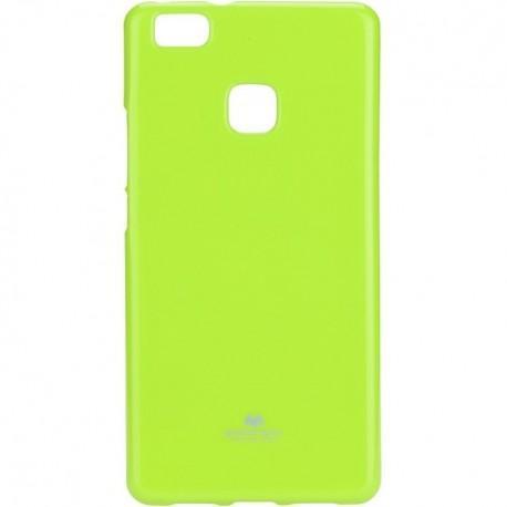 Silikon etui za Huawei P9 Lite, 0,5mm, Zelena barva