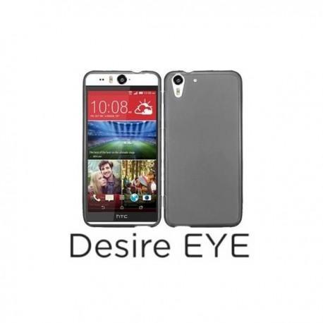 Silikon etui za HTC Desire Eye +Folija ekrana,Temna barva