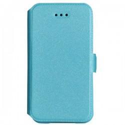 "Preklopna Torbica Fancy ""Slim"" za LG X Power, Modra barva"