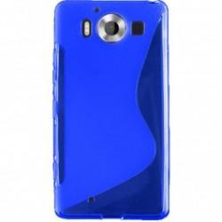 Silikonski etui S za Microsoft Lumia 950, Modra barva