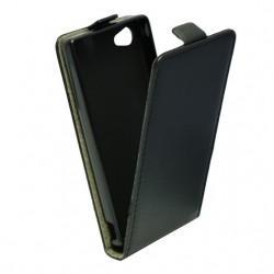 "Preklopna Torbica ""flexi"" za Sony Xperia X Compact, Črna barva"