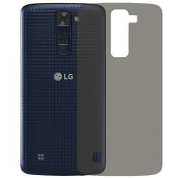 Silikonski etui za LG K8, debeline 0,3mm, Prozorno temna barva