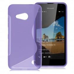 Silikonski etui S za Microsoft Lumia 550, Vijolična barva