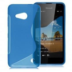 Silikonski etui S za Microsoft Lumia 550, Modra barva