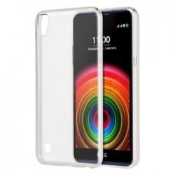 Silikonski etui za LG X Power, debeline 0,3mm, Prozorna barva