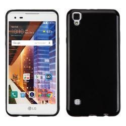 """Silikonski etui """"Slim"""" za LG X Power, 0,5mm, Črna barva"""