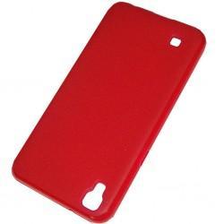 "Silikonski etui ""Slim"" za LG X Power, 0,5mm, Rdeča barva"