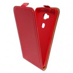 "Preklopna Torbica ""flexi"" za Huawei Honor 7 Lite, Rdeča barva"