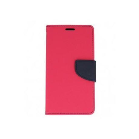 """Preklopna Torbica """"Fancy"""" za Huawei Mate 9, Pink barva"""