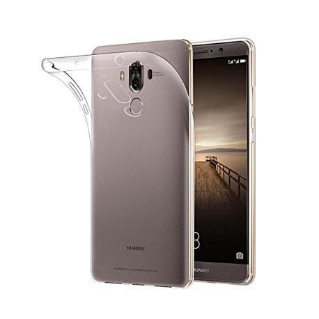 Silikonski etui za Huawei Mate 9, debeline 0,3mm, Prozorna barva