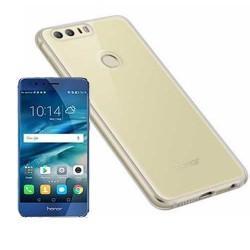 Silikonski etui za Huawei Honor 8, Prozoren+ zaščitno steklo