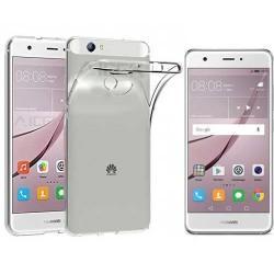 Silikonski etui za Huawei Nova, Prozoren+ zaščitno steklo