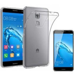 Silikonski etui za Huawei Nova Plus, Prozoren+ zaščitno steklo