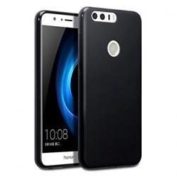 "Silikonski etui ""Slim"" za Huawei Honor 8, 0,5mm, Črna barva"