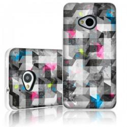 Silikon etui Itskins za HTC One Phantom HD +Zaščitna folija