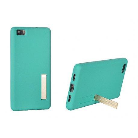 "Silikonski etui ""Stand Case"" za Huawei P9 Lite, Mint barva"