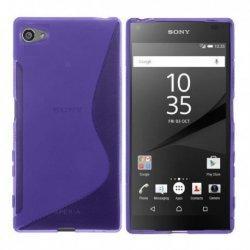 Silikonski etui S za Sony Xperia Z5 Compact, Vijolična barva