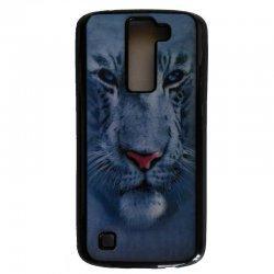 Silikonski ovitek, etui 3D za LG K8, motiv tiger
