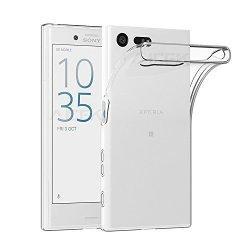 Silikonski etui za Sony Xperia X Compact, 0,3mm, Prozorna barva