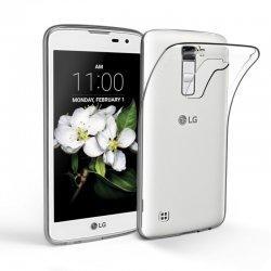 Silikonski etui za LG K7, 0,3mm, Prozorna barva
