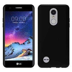 """Silikonski etui """"Slim"""" za LG K8 2017, 0,5mm, Črna barva"""