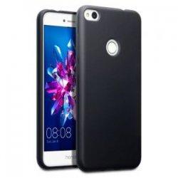 "Silikonski etui ""Slim"" za Huawei Honor 8 Lite, 0,5mm, Črna barva"