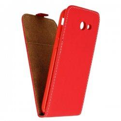"Preklopna torbica, etui ""flexi"", rdeča barva - Samsung Galaxy J3 2017"