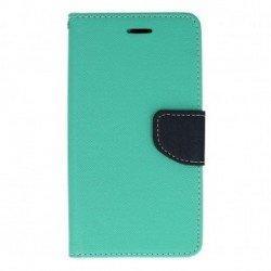 """Preklopna torbica, etui """"Fancy"""" za Huawei P10 Lite, Mint barva"""